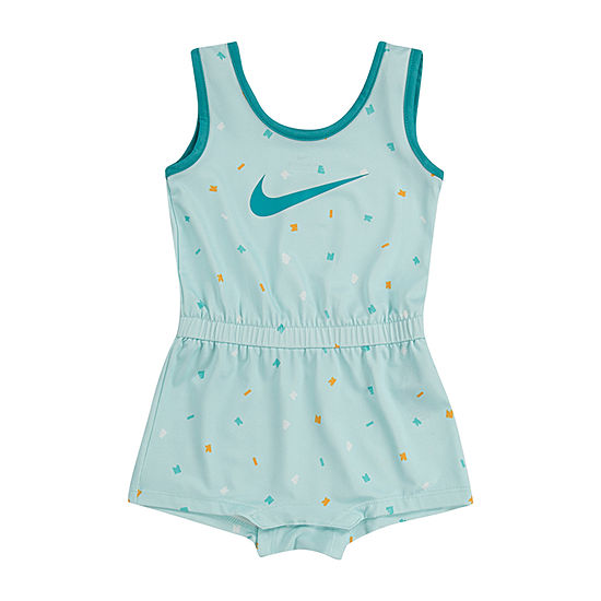Nike Girls Sleeveless Romper - Baby