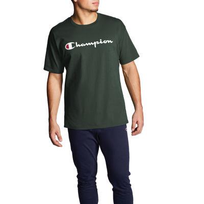 Champion Mens Crew Neck Short Sleeve T-Shirt