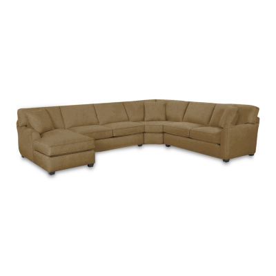 Fabric Possibilities Sharkfin 4-Pc Left Arm Chaise Sectional