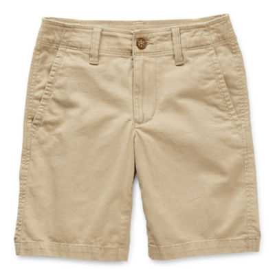 Thereabouts Little & Big Boys Stretch Adjustable Waist Chino Short