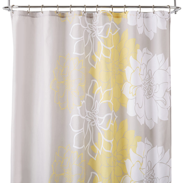 floral shower curtain. Ideology Lola Floral Shower Curtain