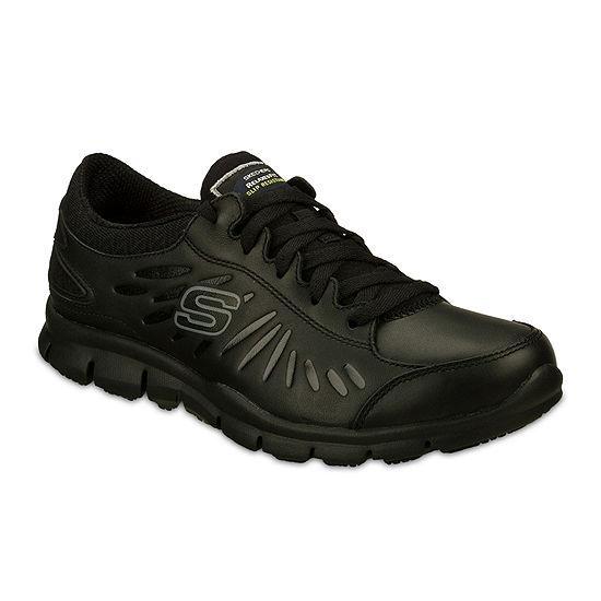 Skechers® Eldred Slip Resistant Womens Work Shoes
