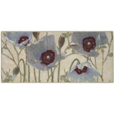 Poppy Parade Kitchen Rectangular Rugs