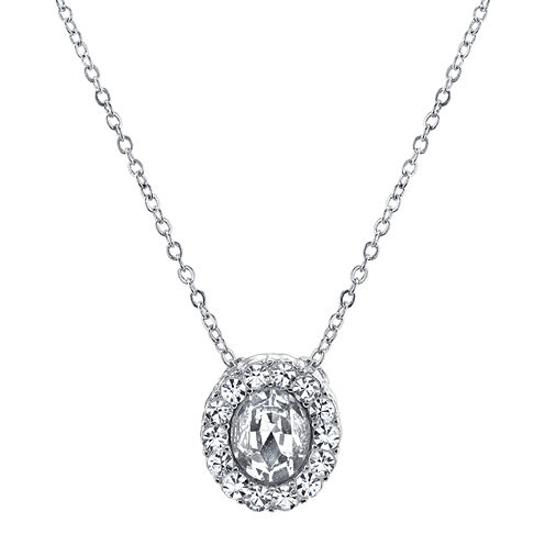 1928® Jewelry Crystal Drop Necklace