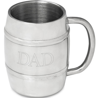 "Cathy's Concepts ""Dad"" Insulated Stainless Steel Keg Mug"