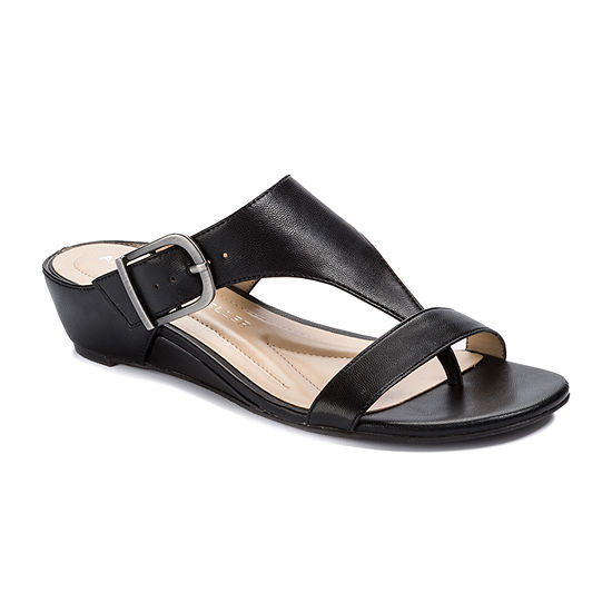 Andrew Geller Womens Ag Iwin Wedge Sandals