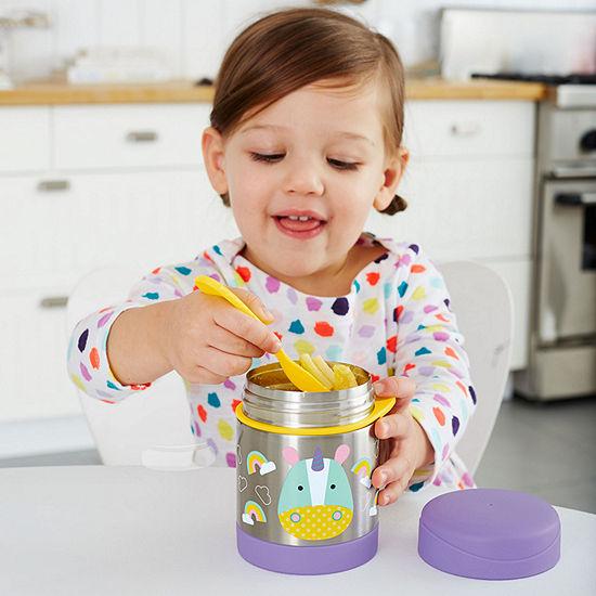 Skip Hop Zoo Insulated Food Jar-Unicorn Baby Utensil
