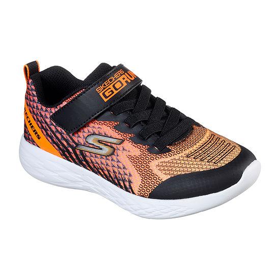 Skechers Go Run 600 - BAXTUX Little Kids Boys Hook and Loop Sneakers