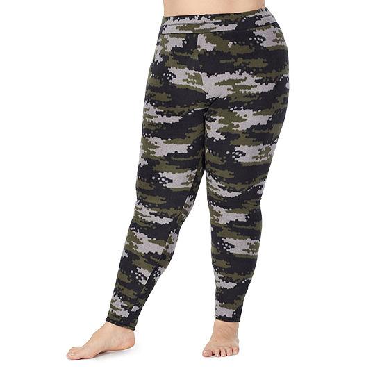 Cuddl Duds Fleecewear With Stretch Womens-Plus Fleece Pajama Pants