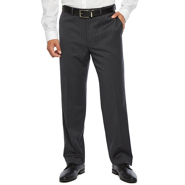 Collection by Michael Strahan  Mens Striped Stretch Classic Fit Suit Pants