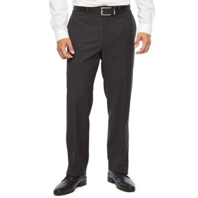 Collection by Michael Strahan  Windowpane Classic Fit Stretch Suit Pants