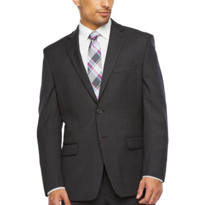 Collection by Michael Strahan  Windowpane Classic Fit Stretch Suit Jacket