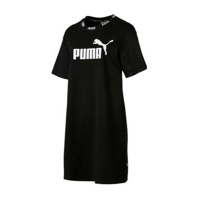 Puma Short Sleeve Logo Sheath Dress