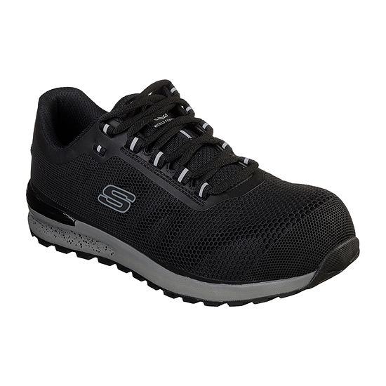 Skechers Mens Bulklin Lace-up Work Shoes