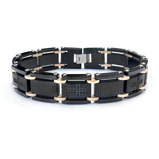 Stainless Steel 8 1/2 Inch Link Bracelet