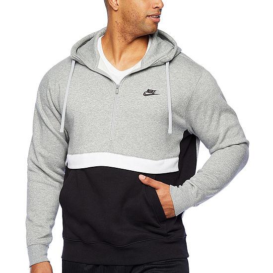 Nike-Big and Tall Mens Long Sleeve Hoodie