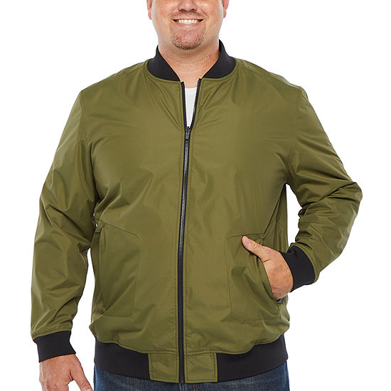 Msx By Michael Strahan Reversible Midweight Bomber Jacket Big and Tall