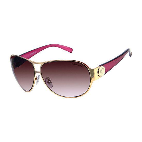 Arizona Womens Junior Full Frame Rectangular UV Protection Sunglasses