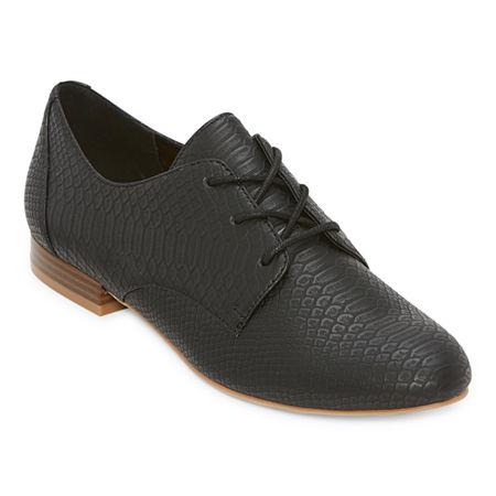 1920s Style Shoes, Heels, Boots a.n.a Womens Alder Ballet Flats 5 12 Medium Black $45.00 AT vintagedancer.com