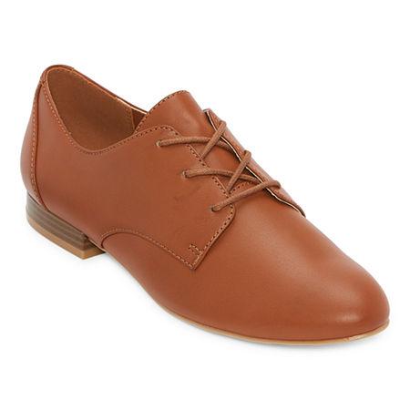 1930s Shoes – Art Deco Shoes, Heels, Boots, Sandals a.n.a Womens Alder Oxford Shoes 10 Medium Brown $31.99 AT vintagedancer.com