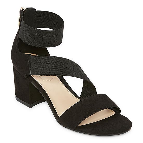 Liz Claiborne Womens Emerson Strap Sandals