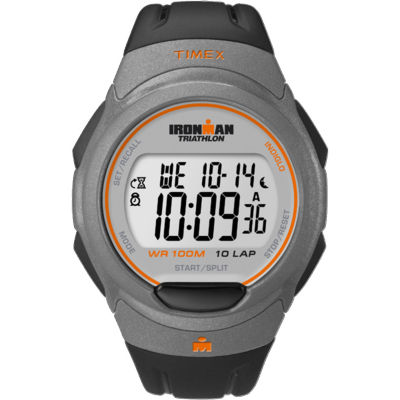 Timex® Black Ironman Triathlon Watch T5K607