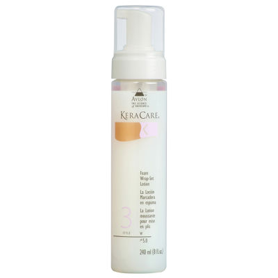 KeraCare® Foam Wrap-Set Lotion