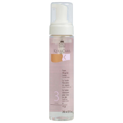 KeraCare® Foam Wrap-Set Lotion Extra Hold - 8 oz.