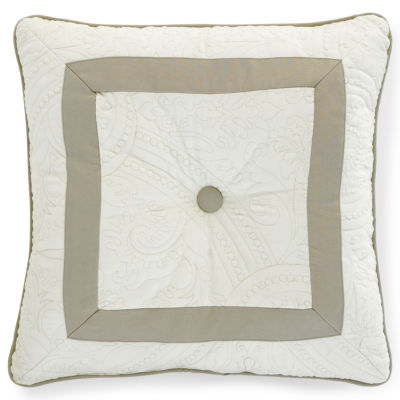 Bensonhurst Tufted Square Decorative Pillow