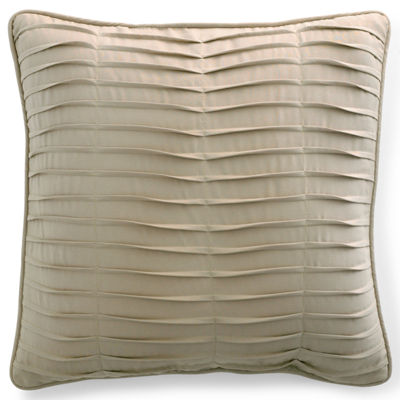 Bensonhurst Pleated Square Decorative Pillow