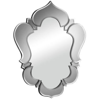 Vishnu Gray Wall Mirror