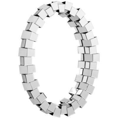 Orbital Oval Wall Mirror