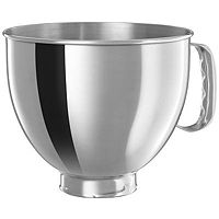 Deals on KitchenAid 5-Qt Polished Stainless Steel Bowl w/Handle K5THSBP