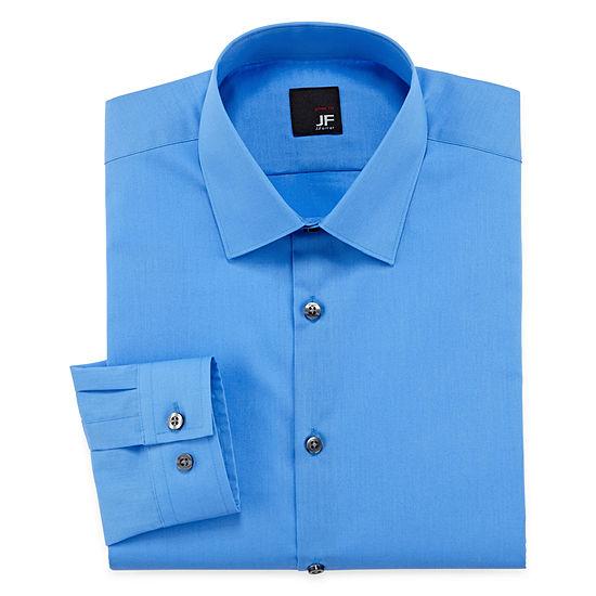 1c3fb52153004 JF J Ferrar Solid Dress Shirt Slim Fit