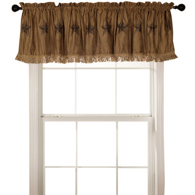 HiEnd Accents Luxury Star Valance