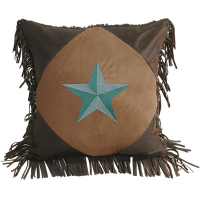 HiEnd Accents Laredo Square Decorative Pillow