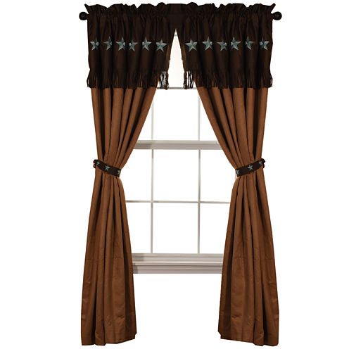 HiEnd Accents Laredo Curtain Panel