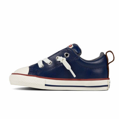 Converse Chuck Taylor All Star Street  Leather And Fleece Slip Boys Sneakers - Toddler