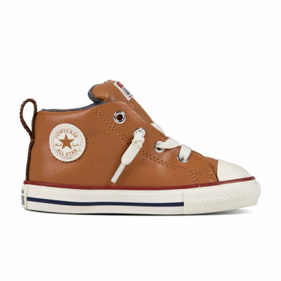 Converse Chuck Taylor All Star Street  Leather And Fleece Mid Boys Sneakers - Toddler