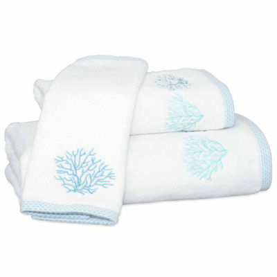 Destinations Sea Reef Embroidered Bath Towel Collection