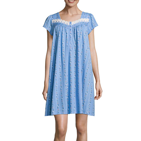 Adonna Short Sleeve Knit Nightgown