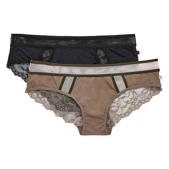 Danskin 2 Pair Knit Cheeky Panty Ds9396-2pka