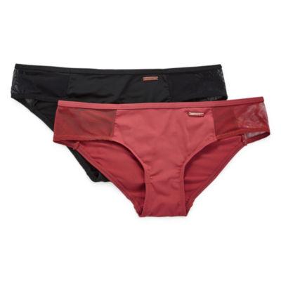 Danskin 2 Pair Knit Cheeky Panty Ds9008-2pka