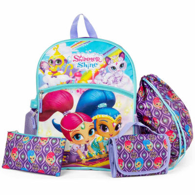 SHIMMER AND SHINE 5PC BACKPACK SET
