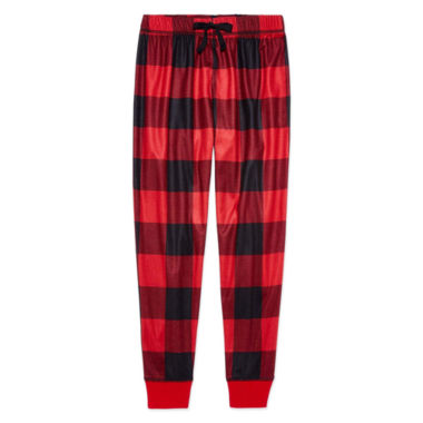 Arizona Red Buffalo Print Jogger Sleep Pant - Boys 4-20 & Husky