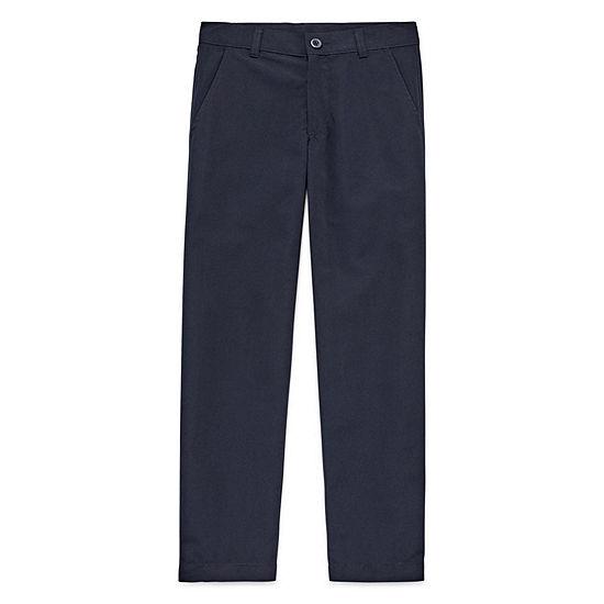 Izod Exclusive Big Boys Straight Flat Front Pant