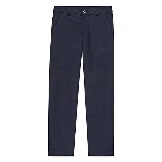 Izod Exclusive Boys Slim Flat Front Pant Preschool Slim