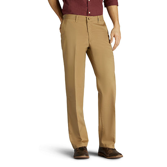 Lee® Total Freedom Men's Straight Fit Khaki Pants