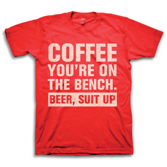 Coffee Bench Beer Up Graphic Tee