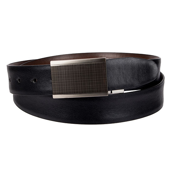 Collection by Michael Strahan Reversible Casual Plaque Buckle Belt
